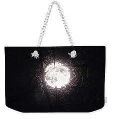 The Last Nights Moon Weekender Tote Bag