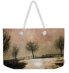 The Last Snow Weekender Tote Bag