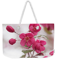 The Last Snowfall Weekender Tote Bag by Ana V Ramirez