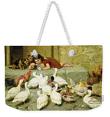 The Last Spoonful Weekender Tote Bag by Briton Riviere
