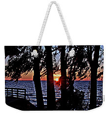 The Last Sun Weekender Tote Bag