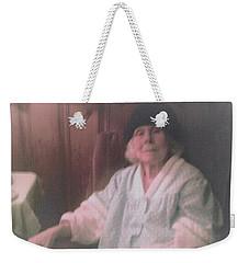 The Last Time Weekender Tote Bag