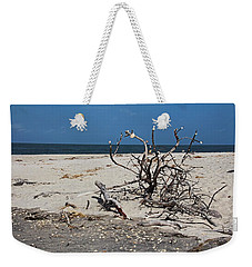 Weekender Tote Bag featuring the photograph The Laws Of Gravity by Michiale Schneider