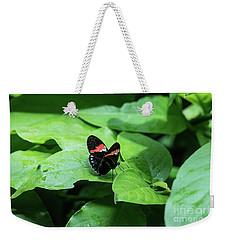 The Leaf Is My Plate Weekender Tote Bag