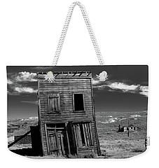 The Leaning Tower Of Bodie Weekender Tote Bag by Marius Sipa