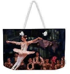 The Leap Weekender Tote Bag by Carrie Joy Byrnes