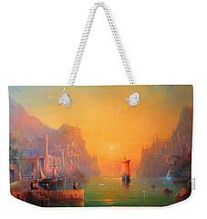 The Leaving Weekender Tote Bag