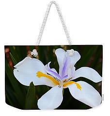 The Legacy African Iris Weekender Tote Bag