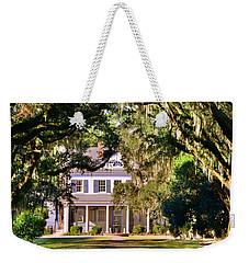 Weekender Tote Bag featuring the photograph The Legare-waring House At Charles Town Landing by Lisa Wooten