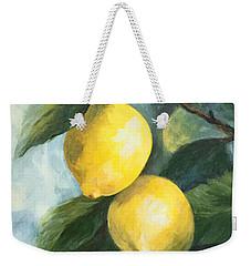 The Lemon Tree Weekender Tote Bag
