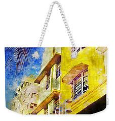 The Leslie Hotel South Beach Weekender Tote Bag