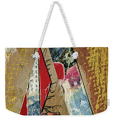 The Letter A Weekender Tote Bag