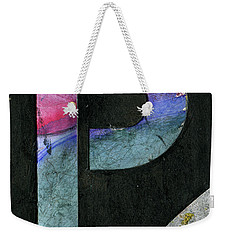 The Letter P Weekender Tote Bag