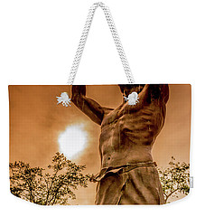 The Liberated Heathen Weekender Tote Bag by Janis Knight