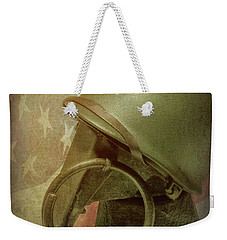 Weekender Tote Bag featuring the photograph The Lieutenant by Tom Mc Nemar