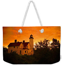 The Light At Dusk Weekender Tote Bag