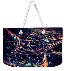 The Light Curves Weekender Tote Bag