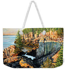 The Light Dawns On West Quoddy Head Weekender Tote Bag