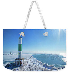 Weekender Tote Bag featuring the photograph The Light Keepers by Phil Koch