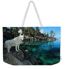 The Light Of Lake Tahoe Weekender Tote Bag