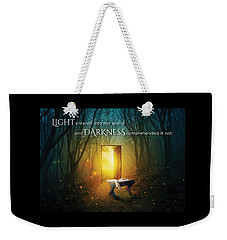 The Light Of Life Weekender Tote Bag