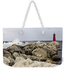 Weekender Tote Bag featuring the photograph The Light by Tara Lynn