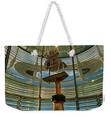 Weekender Tote Bag featuring the photograph The Light Within by Mary Jo Allen