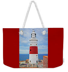The Lighthouse At Europa Point Weekender Tote Bag