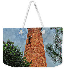 The Lighthouse Weekender Tote Bag by David Stasiak