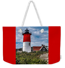 Weekender Tote Bag featuring the photograph The Lighthouse by Kendall McKernon