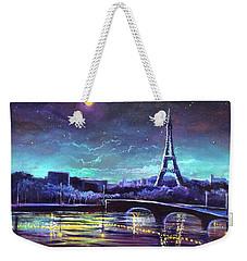 The Lights Of Paris Weekender Tote Bag