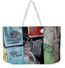 The Lights Were On All Night Weekender Tote Bag