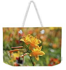The Lilies Arrayed Weekender Tote Bag