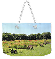 The Lilies Of The Fields Weekender Tote Bag