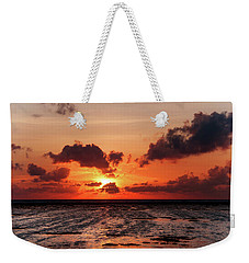 Weekender Tote Bag featuring the photograph The Limitless Loving Devotion by Jenny Rainbow