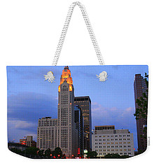 The Lincoln Leveque Tower Weekender Tote Bag
