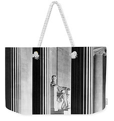 The Lincoln Memorial Weekender Tote Bag by War Is Hell Store