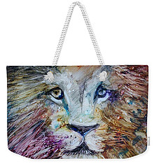 The Lion Weekender Tote Bag