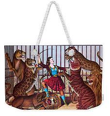 The Lion Queen Print, 1874 Weekender Tote Bag