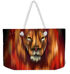 The Lion, The Bull And The Hunter Weekender Tote Bag