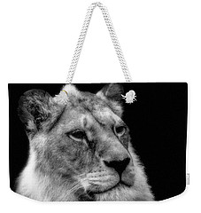 The Lioness Sitting Proud Weekender Tote Bag