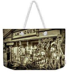 The Little Antique Store Weekender Tote Bag