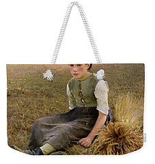The Little Gleaner Weekender Tote Bag by Hugo Salmson