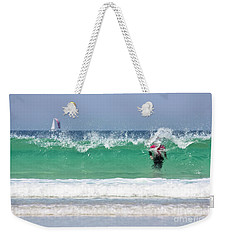 Weekender Tote Bag featuring the photograph The Little Mermaid by Terri Waters
