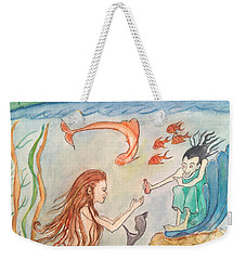 The Little Mermaid Weekender Tote Bag