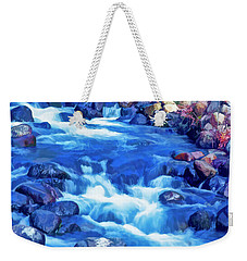 The Little Stream That Could Weekender Tote Bag by Nancy Marie Ricketts