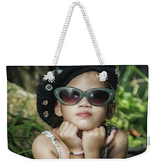 The Little Thinking Girl Weekender Tote Bag