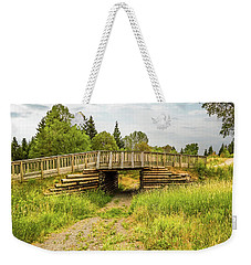 The Little Wooden Bridge Weekender Tote Bag