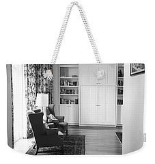 Weekender Tote Bag featuring the photograph The Living Room by Ester Rogers