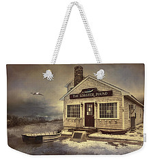 Weekender Tote Bag featuring the photograph The Lobster Pound by Robin-Lee Vieira